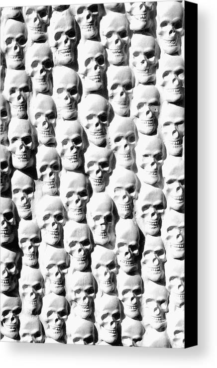 Figurative Canvas Print featuring the sculpture Melancholic Journey 2 by Mark Cawood