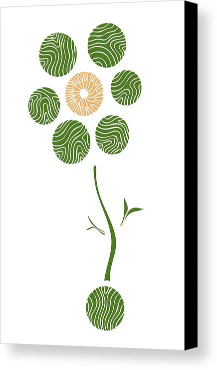 Spring Flower Canvas Print featuring the painting Spring Flower by Frank Tschakert
