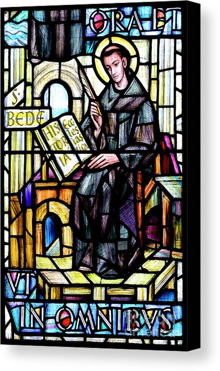 Norfolk Canvas Print featuring the photograph The Venerable Bede by Phil Robinson