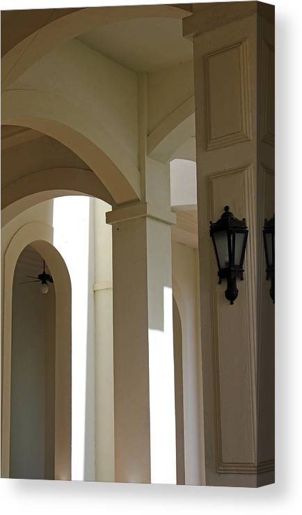 Arches Canvas Print featuring the photograph Arches by Carolyn Stagger Cokley