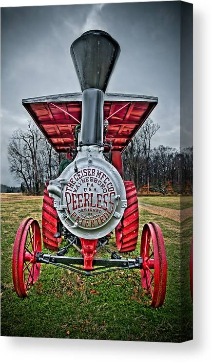 Peerless Canvas Print featuring the photograph Peerless by Williams-Cairns Photography LLC