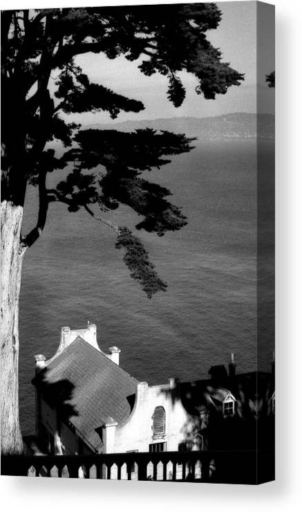 Alcatraz Canvas Print featuring the photograph View From Alcatraz by Todd Fox