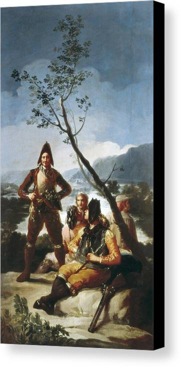 Vertical Canvas Print featuring the photograph Goya Y Lucientes, Francisco De by Everett