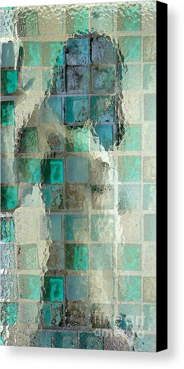 Woman Canvas Print featuring the photograph Squared Away 7 by Jeff Breiman