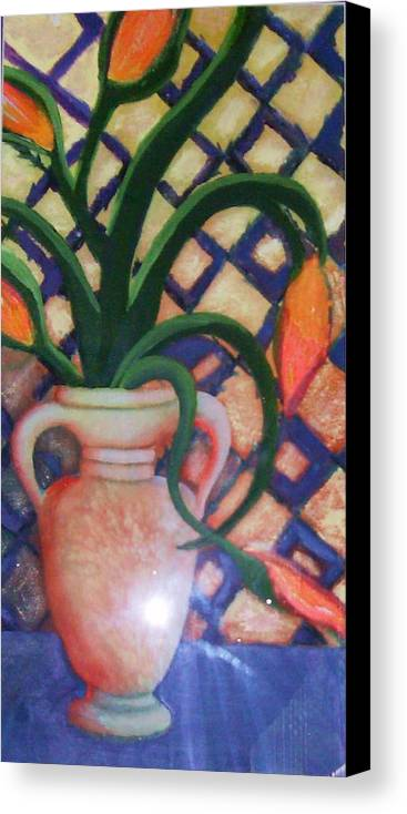 Tuscany Canvas Print featuring the painting Tuscany Morning by Anne-Elizabeth Whiteway