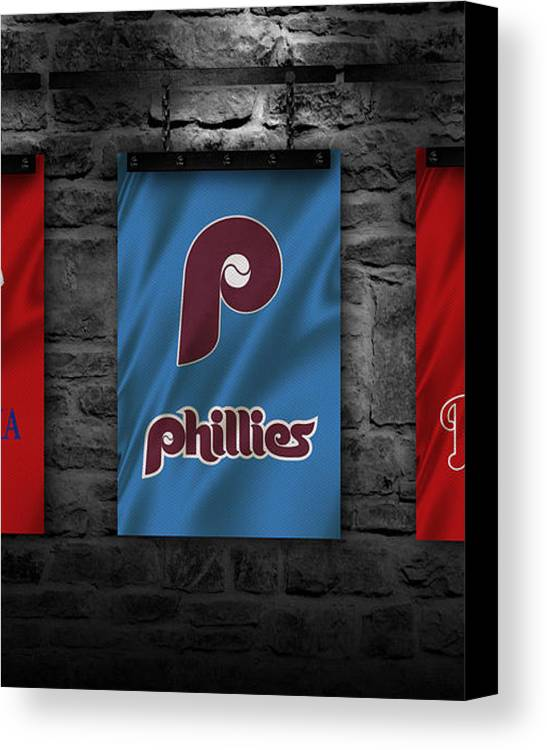 Phillies Canvas Print featuring the photograph Philadelphia Phillies by Joe Hamilton