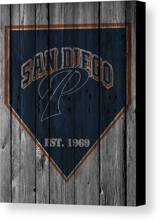 Padres Canvas Print featuring the photograph San Diego Padres by Joe Hamilton