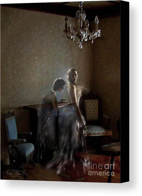 Bride Canvas Print featuring the photograph Brides Maid by Tom Straub
