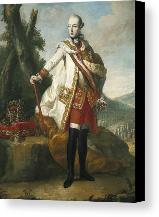Man Canvas Print featuring the photograph Joseph II Of Habsburg 1741-1790 by Everett