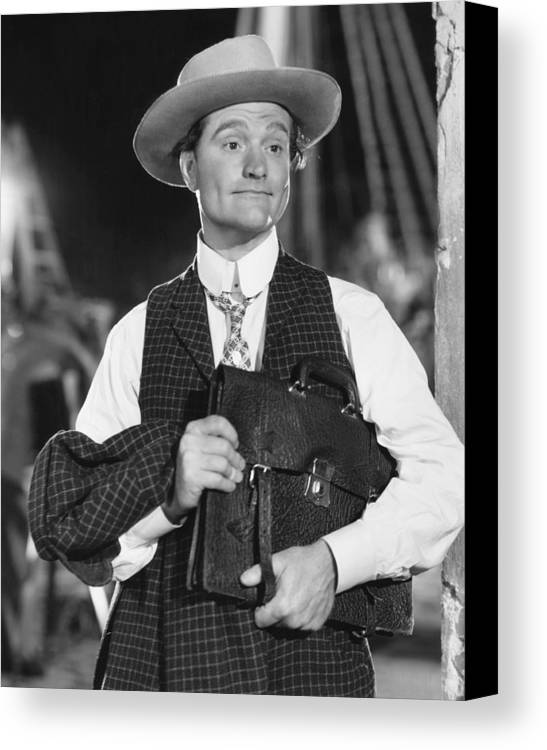 1940s Movies Canvas Print featuring the photograph Merton Of The Movies, Red Skelton, 1947 by Everett