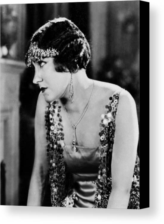 1920s Fashion Canvas Print featuring the photograph The Impossible Mrs. Bellew, Gloria by Everett