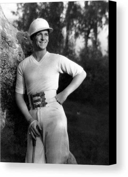1930s Portraits Canvas Print featuring the photograph Douglas Fairbanks, Jr., 1930 by Everett