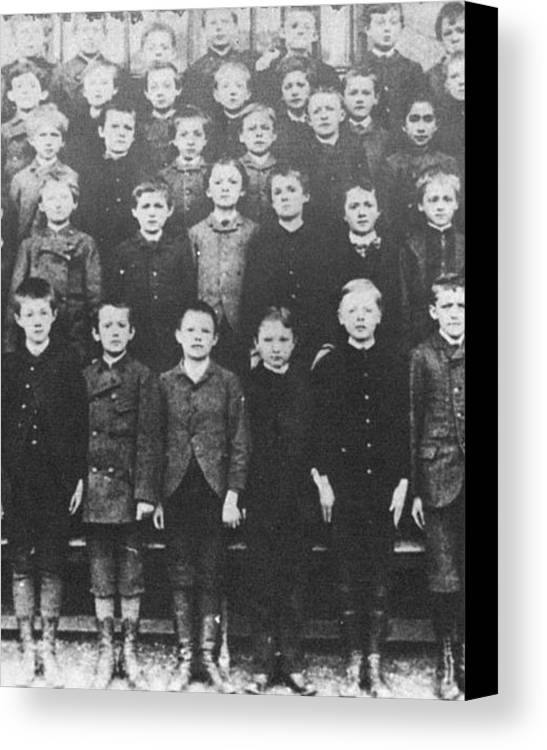 1940 Canvas Print featuring the photograph Albert Einstein by Granger