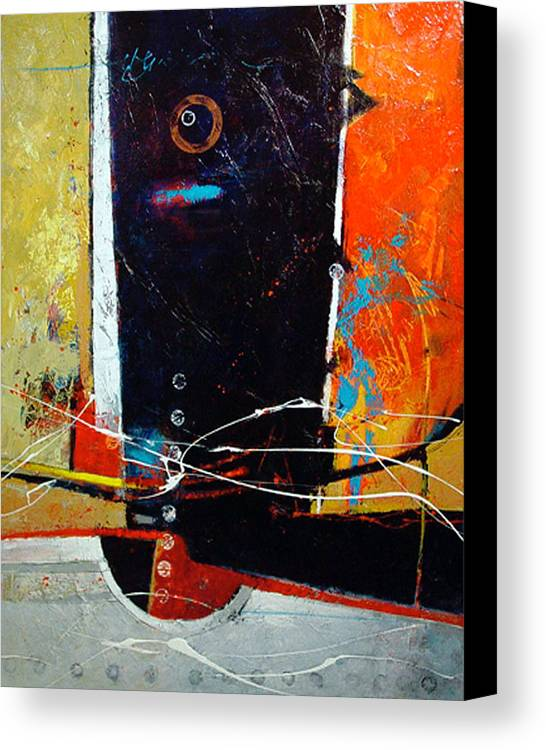 Abstract Canvas Print featuring the painting Observatory by Dale Witherow