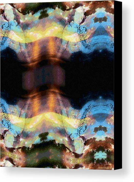 Rainbow Colors Digital Canvas Print featuring the photograph Aia Aku Aia Mai by Kenneth Grzesik