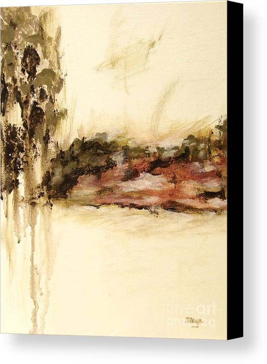 Abstract Canvas Print featuring the painting Ambiguous by Itaya Lightbourne