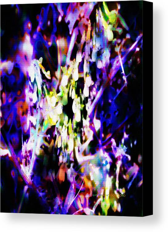 Inspiration Canvas Print featuring the digital art Inspiration by Mimulux patricia No