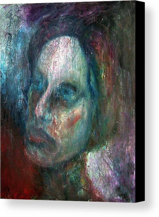 Painting Canvas Print featuring the photograph Madam X by Richard Coletti