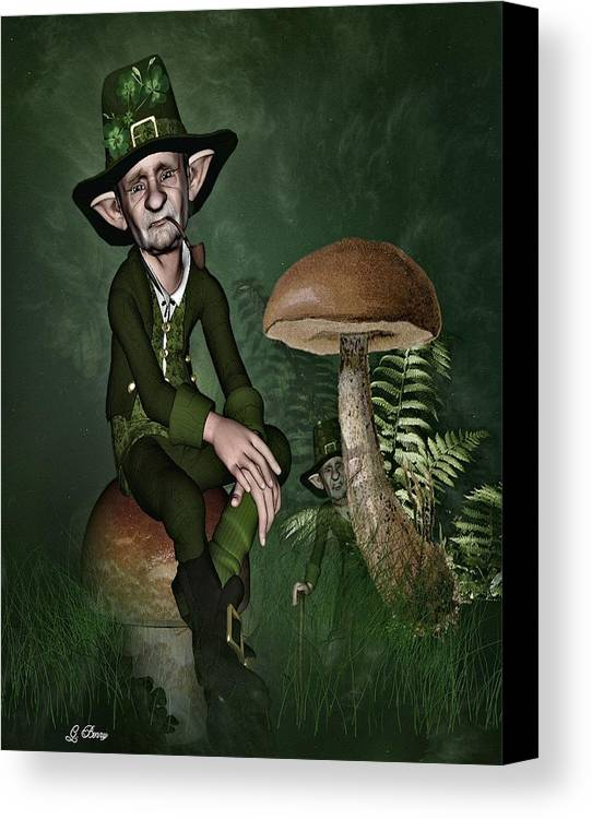 Fairyland Canvas Print featuring the photograph Irish Forklore by G Berry