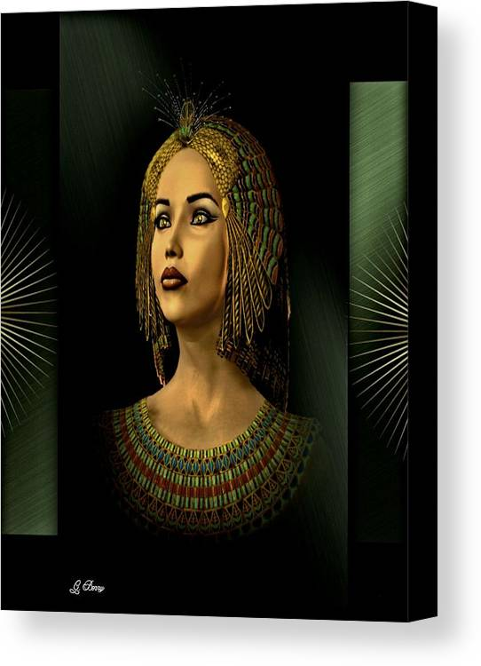 Old World Canvas Print featuring the photograph Anneliese by G Berry