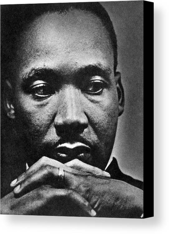 African American Canvas Print featuring the photograph Rev. Martin Luther King Jr. 1929-1968 by Everett