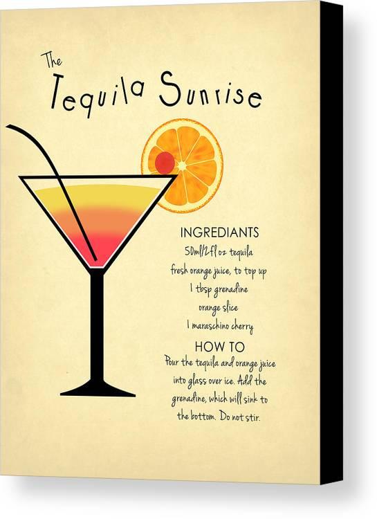 Tequila Sunrise Canvas Print / Canvas Art by Mark Rogan
