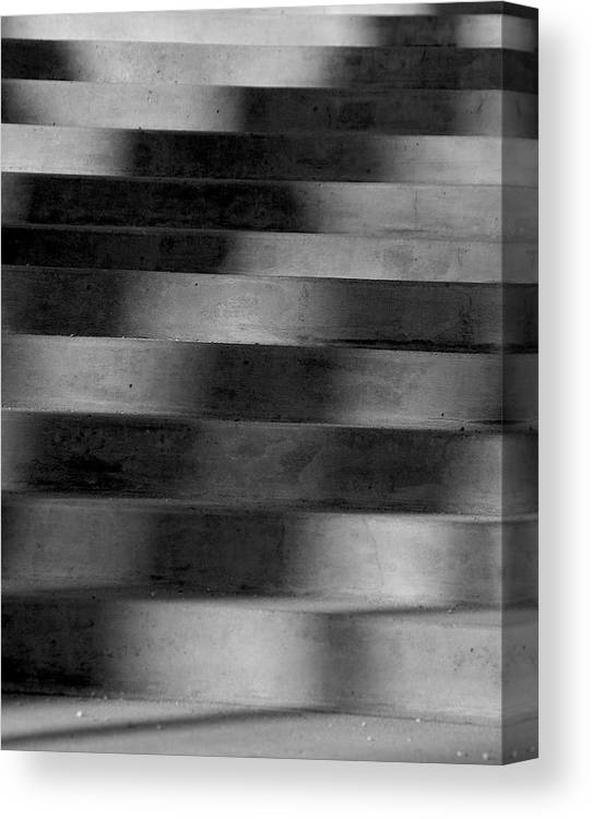 Stairs Canvas Print featuring the photograph Abstract Shadows by Janet Smith