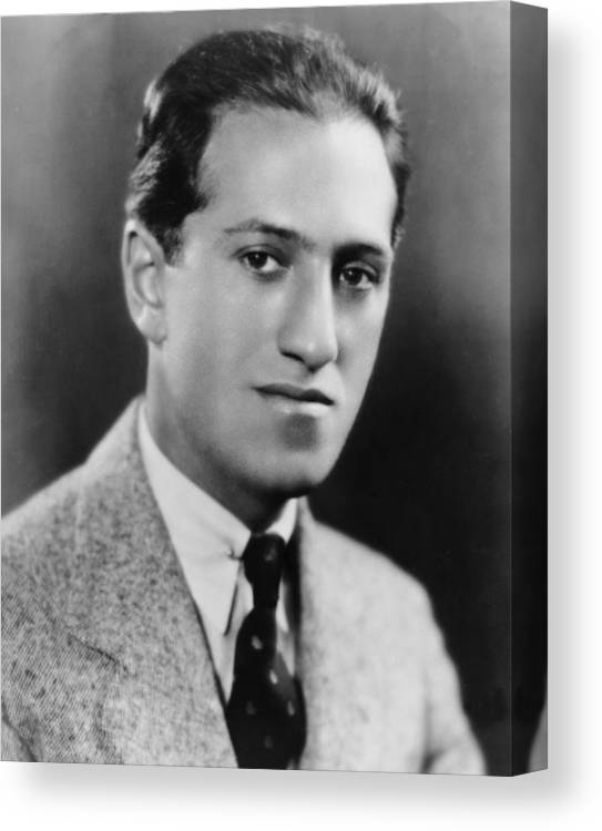 History Canvas Print featuring the photograph George Gershwin 1898-1937 American by Everett