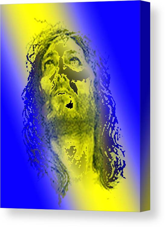 Pietyz Artz Canvas Print featuring the digital art King Of Kingz by Piety Dsilva