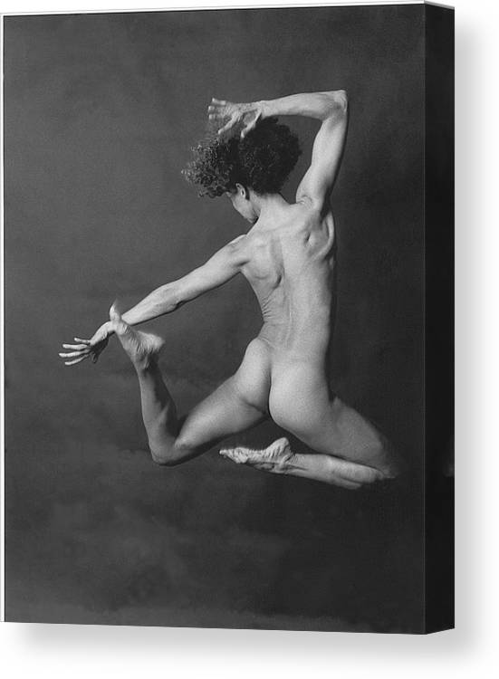 Nude Canvas Print featuring the photograph Nude Dancer by Carmine Scarpa