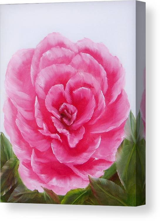 Oil Canvas Print featuring the painting Rose by Joni McPherson