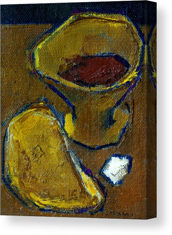 Altar Canvas Print featuring the painting Still Life 1 by Valeriy Mavlo
