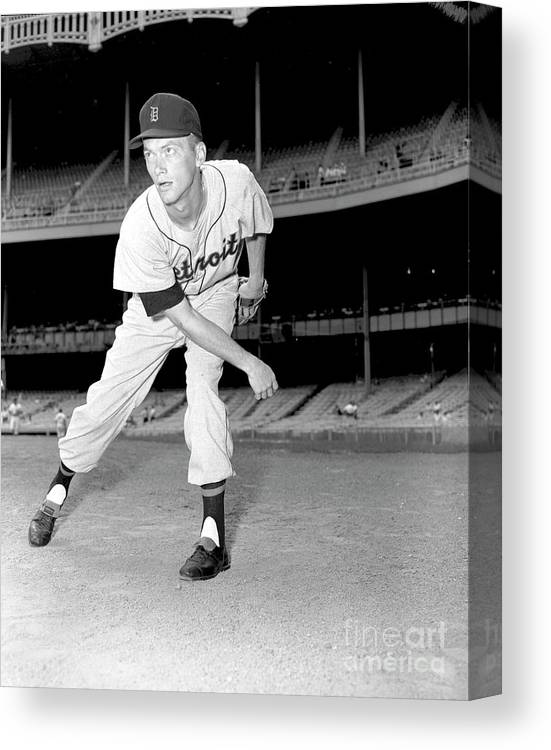People Canvas Print featuring the photograph Jim York by Kidwiler Collection