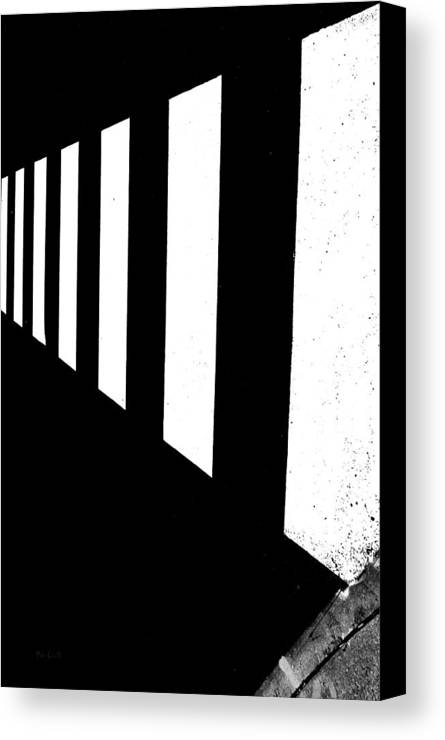 Abstract Canvas Print featuring the photograph Crosswalk by Bob Orsillo