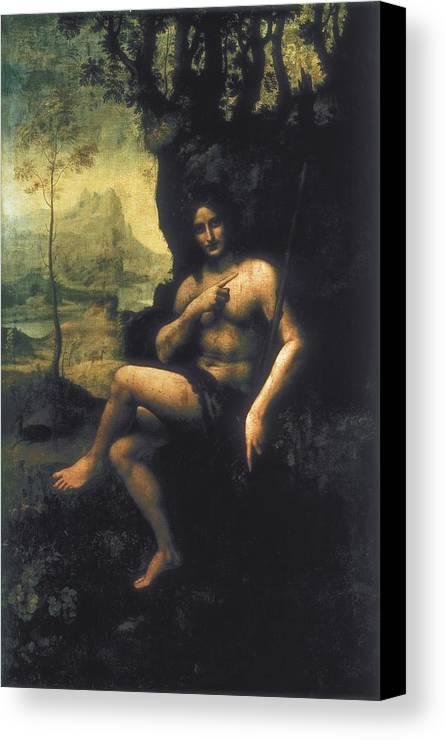Vertical Canvas Print featuring the photograph Leonardo Da Vinci, School Of First Half by Everett