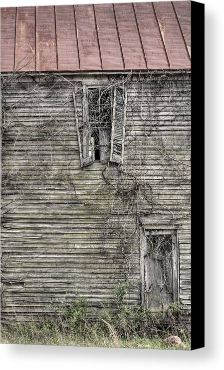 The Window Up Above Canvas Print featuring the photograph The Window Up Above by JC Findley