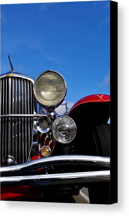 Vintage Canvas Print featuring the photograph Duesenberg by Tim Nyberg