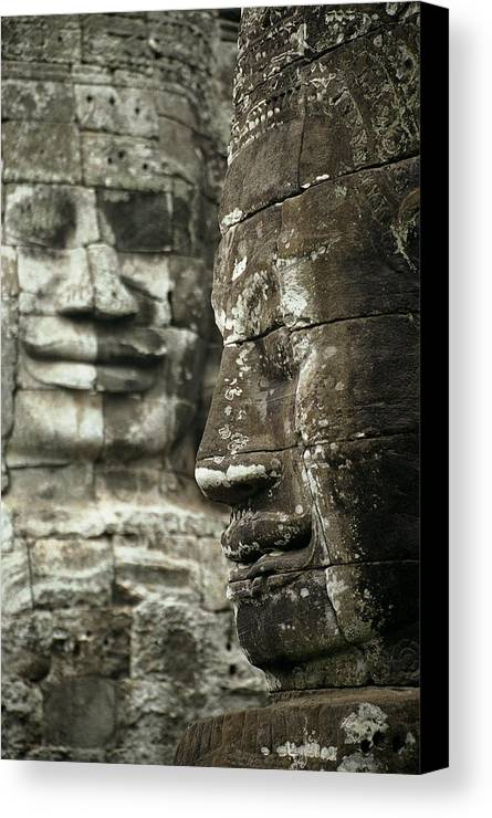Bayon Canvas Print featuring the photograph Bayonii by Patrick Klauss