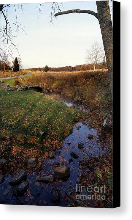Scenic Tours Canvas Print featuring the photograph Bloody Creek by Skip Willits