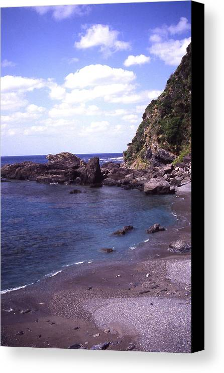 Okinawa Canvas Print featuring the photograph Okinawa Beach 5 by Curtis J Neeley Jr