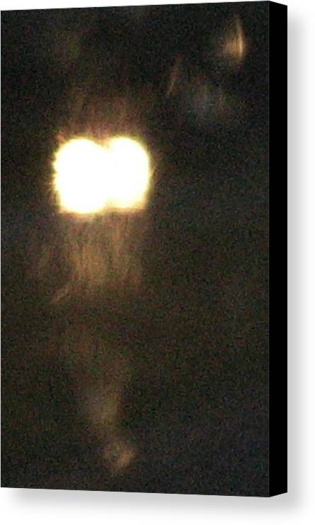 Lights Canvas Print featuring the photograph Rain 2 by Stephen Hawks