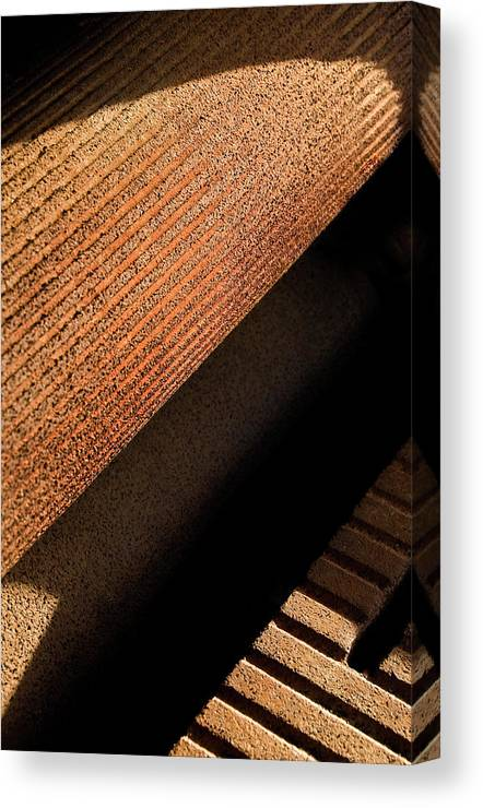 Machine Canvas Print featuring the photograph Shadow Roller by Murray Bloom