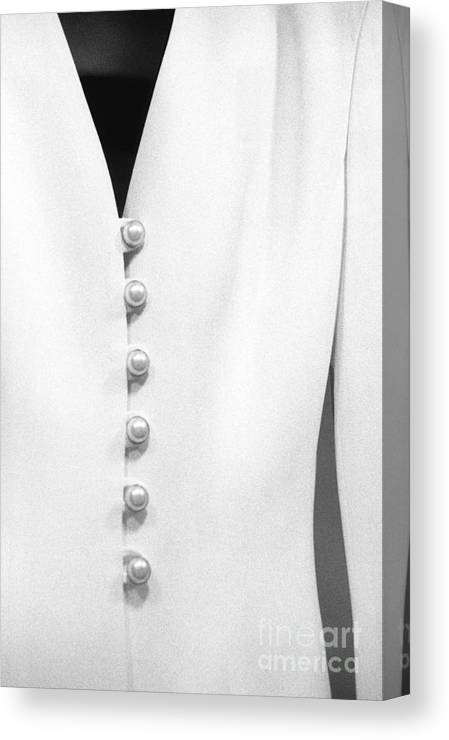 Dress Canvas Print featuring the photograph White Dress by Arvind Garg