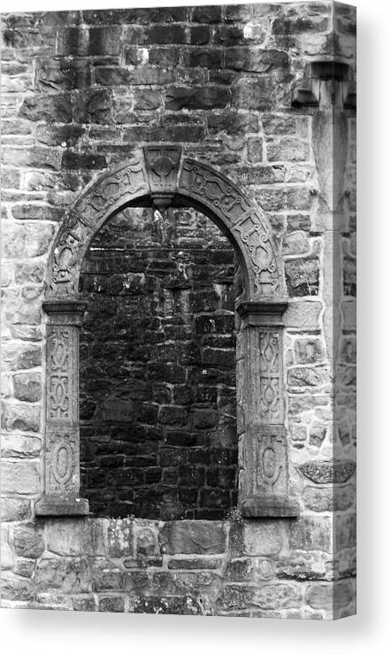 Irish Canvas Print featuring the photograph Window At Donegal Castle Ireland by Teresa Mucha