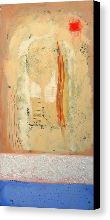 Abstract Canvas Print featuring the painting Heat by Aliza Souleyeva-Alexander