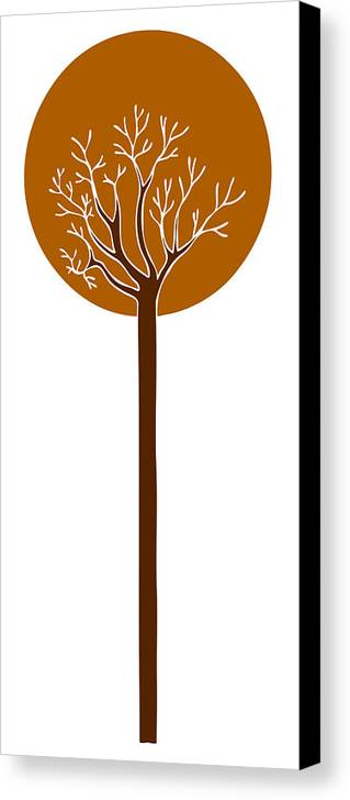 Tree Canvas Print featuring the painting Tree by Frank Tschakert