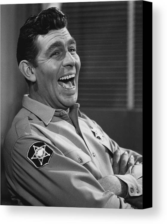 classic Canvas Print featuring the photograph Andy Griffith by Retro Images Archive