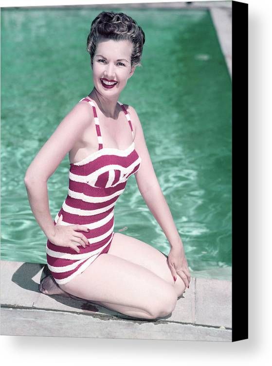 Gale Storm Canvas Print featuring the photograph Gale Storm by Silver Screen