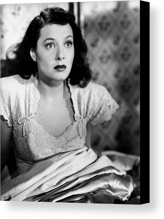 1940s Movies Canvas Print featuring the photograph Man Alive, Ellen Drew, 1945 by Everett