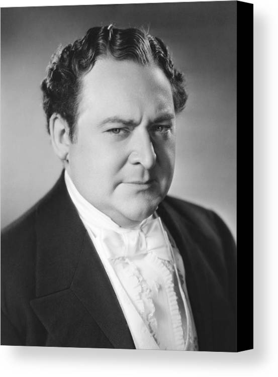 1930s Movies Canvas Print featuring the photograph The Toast Of New York, Edward Arnold by Everett